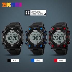 SKMEI Jam Tangan Digital Pria - DG1130 - Black White - 9