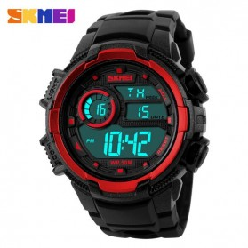 SKMEI Jam Tangan Digital Pria - DG1113 - Black/Red