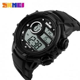 SKMEI Jam Tangan Digital Pria - DG1113 - Black White - 3