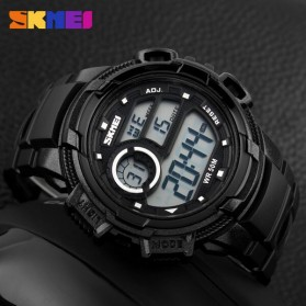 SKMEI Jam Tangan Digital Pria - DG1113 - Black White - 4