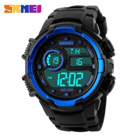 SKMEI Jam Tangan Digital Pria - DG1113 - Black Blue