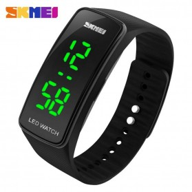 SKMEI Jam Tangan LED - 1119 - Black