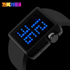 SKMEI Jam Tangan LED - 1145 - Black - 6