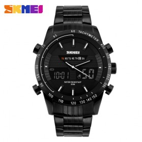 SKMEI Jam Tangan Analog Digital Pria - AD1131 - Black