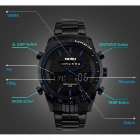 SKMEI Jam Tangan Analog Digital Pria - AD1131 - Blue - 5