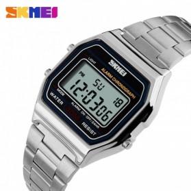 SKMEI Jam Tangan Digital Pria - DG1123 - Silver - 2
