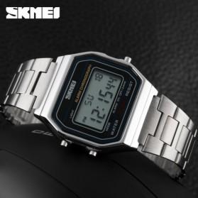 SKMEI Jam Tangan Digital Pria - DG1123 - Silver - 3