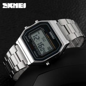 SKMEI Jam Tangan Digital Pria - DG1123 - Silver - 4