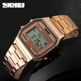 SKMEI Jam Tangan Digital Pria - DG1123 - Rose Gold - 5