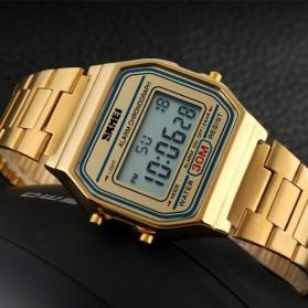 SKMEI Jam Tangan Digital Pria - DG1123 - Golden - 2