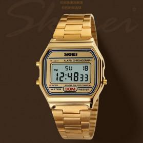 SKMEI Jam Tangan Digital Pria - DG1123 - Golden - 3