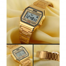 SKMEI Jam Tangan Digital Pria - DG1123 - Golden - 4