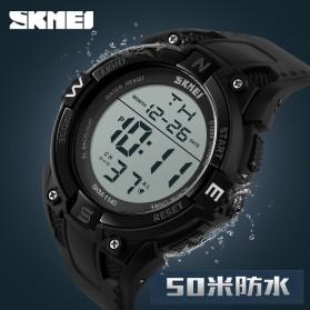 SKMEI Jam Tangan Digital Pria - DG1140 - Black - 6