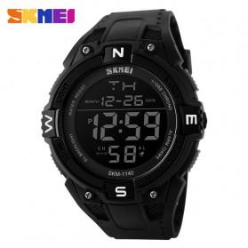 SKMEI Jam Tangan Digital Pria - DG1140 - Black/Black