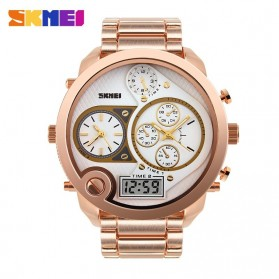 SKMEI Jam Tangan Digital Analog Jumbo Pria - AD1170 - Rose Gold