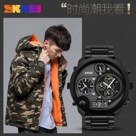 SKMEI Jam Tangan Digital Analog Jumbo Pria - AD1170 - Black - 6
