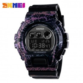SKMEI Jam Tangan Digital Pria - DG1150 - Black/Purple