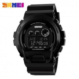 SKMEI Jam Tangan Digital Pria - DG1150 - Black/Black