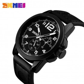 SKMEI Jam Tangan Analog Pria - 9111CL - Black - 2