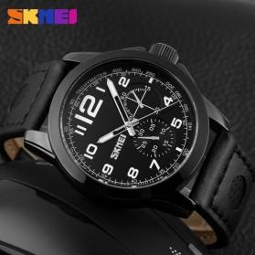 SKMEI Jam Tangan Analog Pria - 9111CL - Black - 3