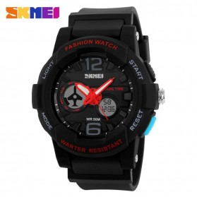 SKMEI Jam Tangan Analog Digital Pria - AD1120 - Black