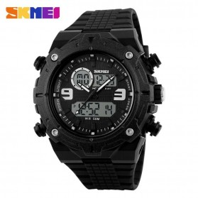 SKMEI Jam Tangan Analog Digital Pria - AD1156 - Black