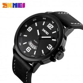 SKMEI Jam Tangan Analog Pria - 9115CL - Black - 2