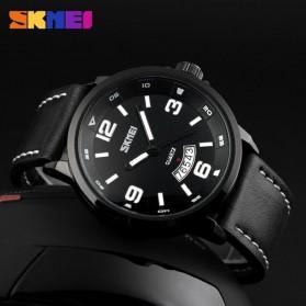 SKMEI Jam Tangan Analog Pria - 9115CL - Black - 3