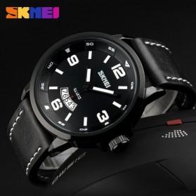 SKMEI Jam Tangan Analog Pria - 9115CL - Black - 4