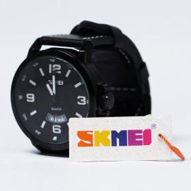 SKMEI Jam Tangan Analog Pria - 9115CL - Black - 12