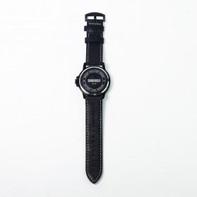 SKMEI Jam Tangan Analog Pria - 9115CL - Black - 14