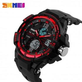 SKMEI Jam Tangan Sporty Digital Analog Pria - AD1148 - Black/Red - 3