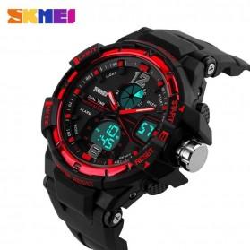 SKMEI Jam Tangan Sporty Digital Analog Pria - AD1148 - Black/Red - 4
