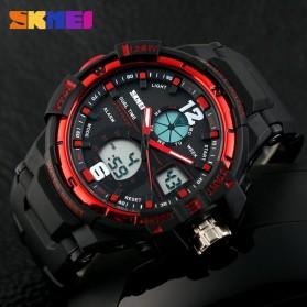 SKMEI Jam Tangan Sporty Digital Analog Pria - AD1148 - Black/Red - 6