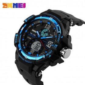 SKMEI Jam Tangan Sporty Digital Analog Pria - AD1148 - Black/Blue - 3