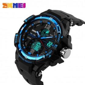 SKMEI Jam Tangan Sporty Digital Analog Pria - AD1148 - Black/Blue - 4