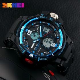 SKMEI Jam Tangan Sporty Digital Analog Pria - AD1148 - Black/Blue - 5