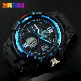 SKMEI Jam Tangan Sporty Digital Analog Pria - AD1148 - Black/Blue - 6