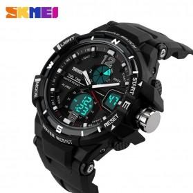 SKMEI Jam Tangan Sporty Digital Analog Pria - AD1148 - Black White - 4