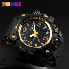 SKMEI Jam Tangan Analog Digital Pria - AD1155 - Black Gold - 3