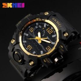 SKMEI Jam Tangan Analog Digital Pria - AD1155 - Black Gold - 4