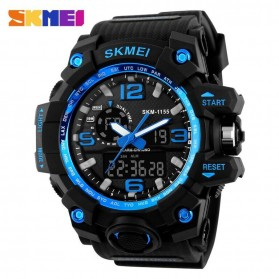 SKMEI Jam Tangan Analog Digital Pria - AD1155 - Black/Blue