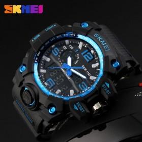 SKMEI Jam Tangan Analog Digital Pria - AD1155 - Black/Blue - 4