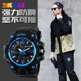 SKMEI Jam Tangan Analog Digital Pria - AD1155 - Black/Blue - 5