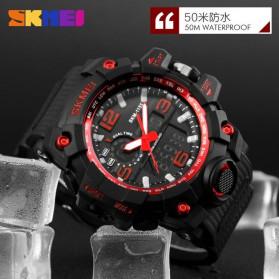 SKMEI Jam Tangan Analog Digital Pria - AD1155 - Black/Gray - 6