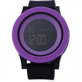 SKMEI Jam Tangan Digital Pria - DG1142 - Black/Purple