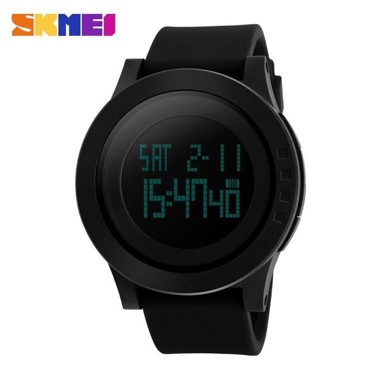 SKMEI Jam Tangan Digital Pria - DG1142 - Black