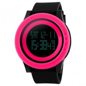 SKMEI Jam Tangan Digital Pria - DG1142 - Black/Pink