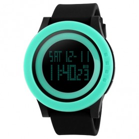 SKMEI Jam Tangan Digital Pria - DG1142 - Black/Green