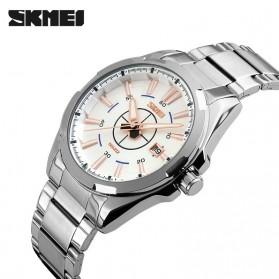 SKMEI Jam Tangan Analog - 9118CS - Silver/Gold - 2